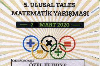 """5. ULUSAL TALES MATEMATİK YARIŞMASI"""